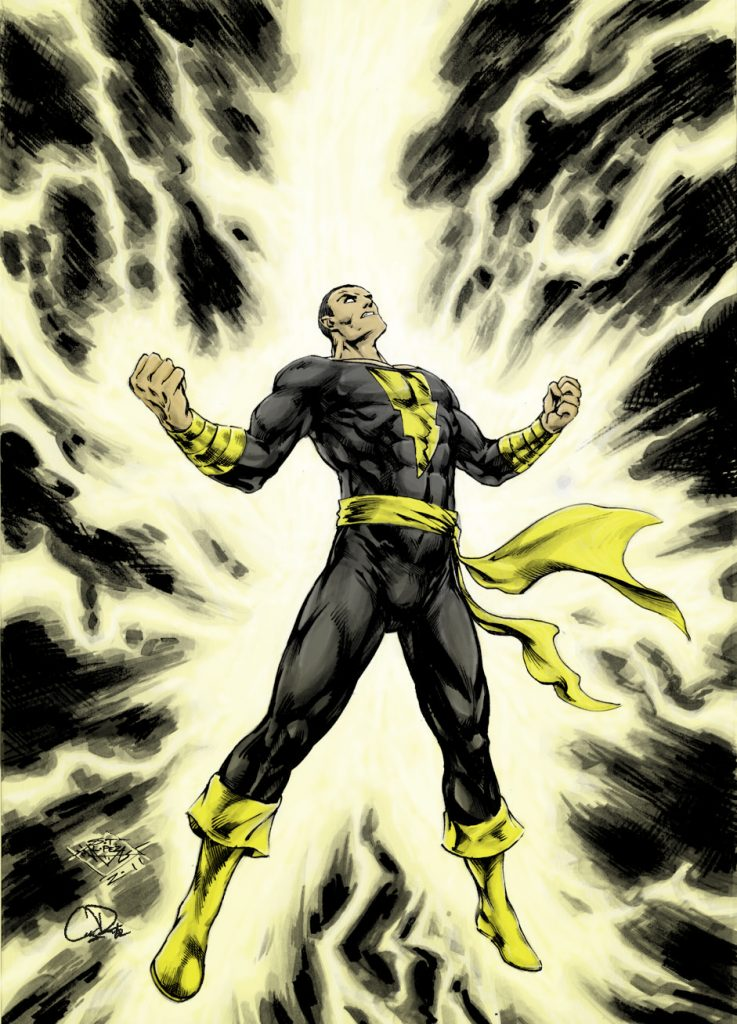 Black Adam 2021 elenco