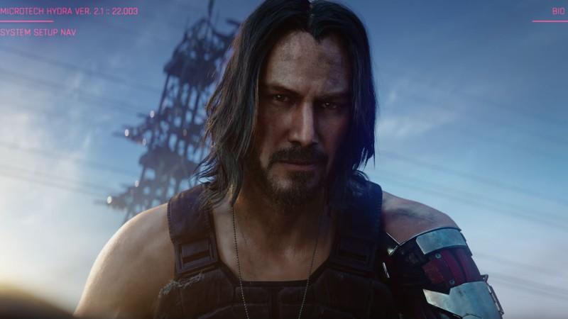 Keanu Reeves interpretará personagem em Cyberpunk 2077