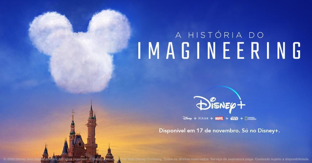 A história do Imagineering, série do Disney+
