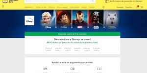Parceria entre Mercado Livre e Disney Plus garante aos assinantes até 6 meses grátis