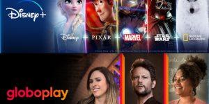 Parceria entre Globoplay e Disney+