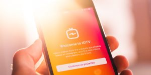Instagram Shopping no IGTV