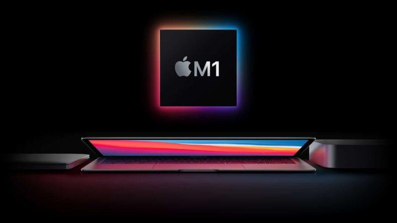 Novos Macs com chip M1