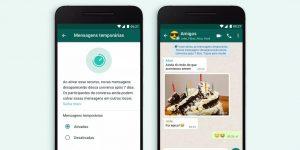 WhatsApp lança recurso de mensagens temporárias, que desaparecem após sete dias