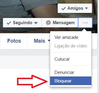 Bloquear perfil no Facebook