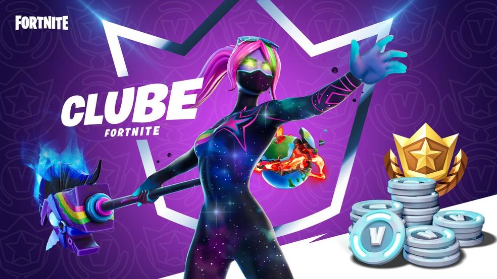 Clube Fortnite - Dezembro de 2020