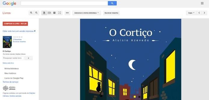 Comprar livro no Google Books