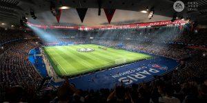 Estádio Parc des Princes, do PSG, no FIFA 21