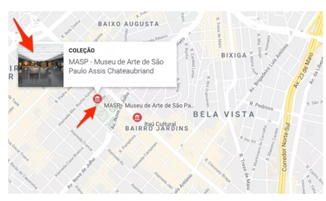 explorar museu nacional no Google
