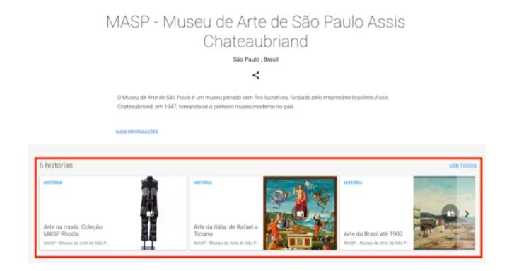 explorar museus google acervo