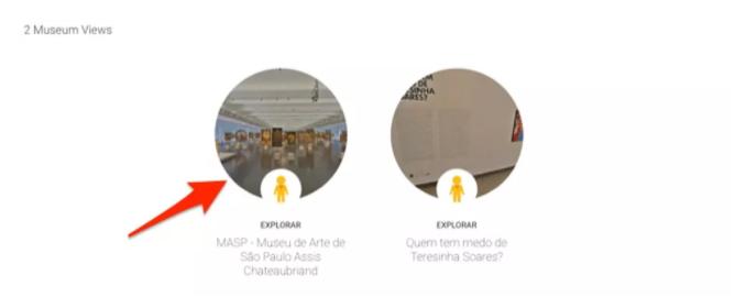 visita virtual museu google