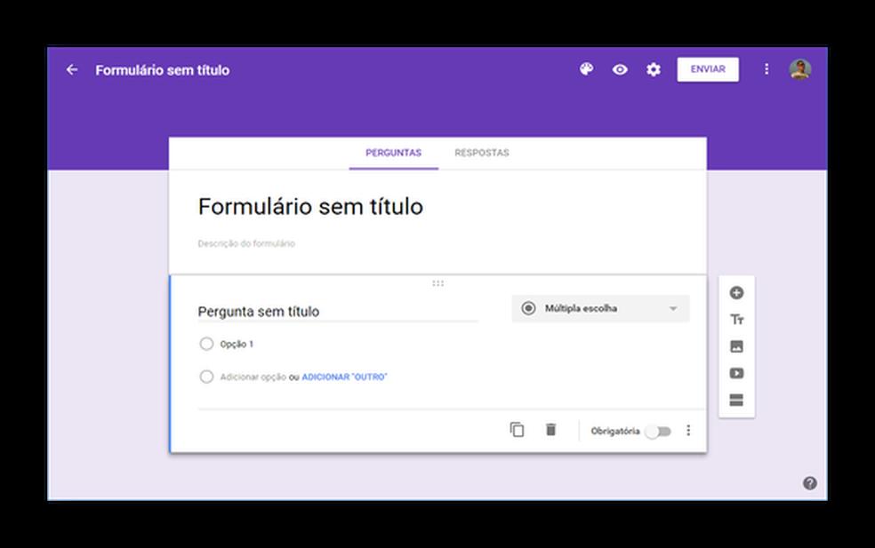 Formulário Google
