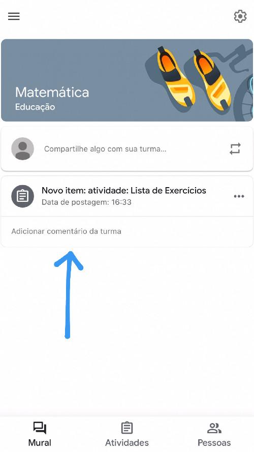 Google Classroom atividades