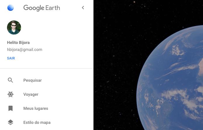Google Earth acesso
