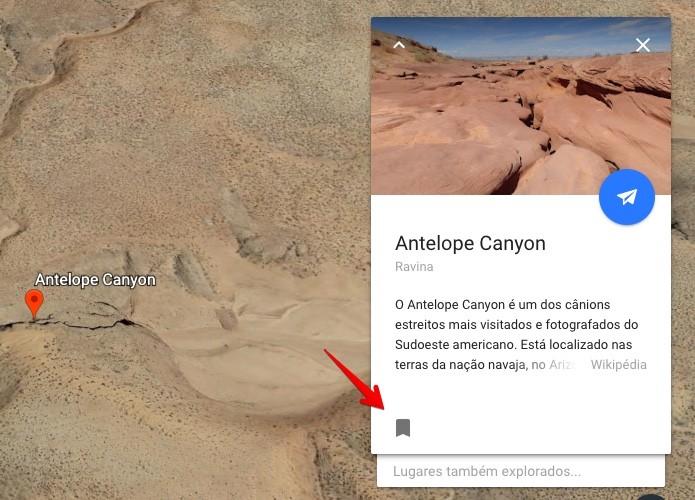 Google Earth Salvar
