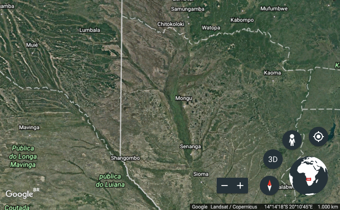 Google earth tipo de mapa