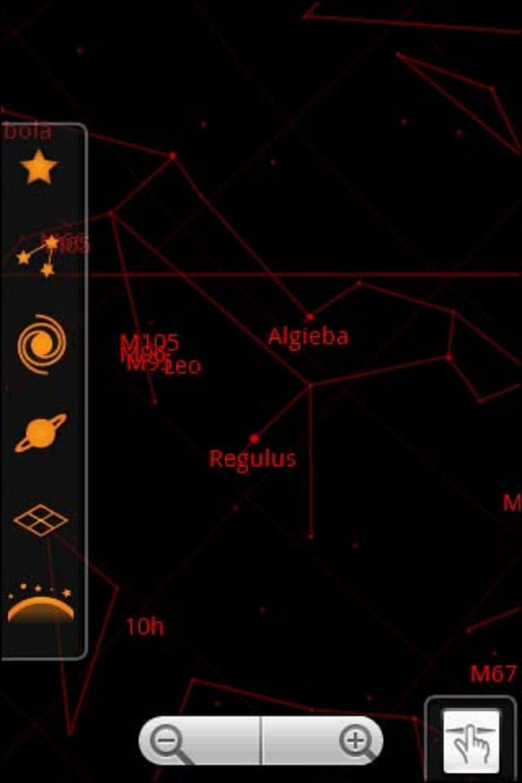como funciona o google sky map