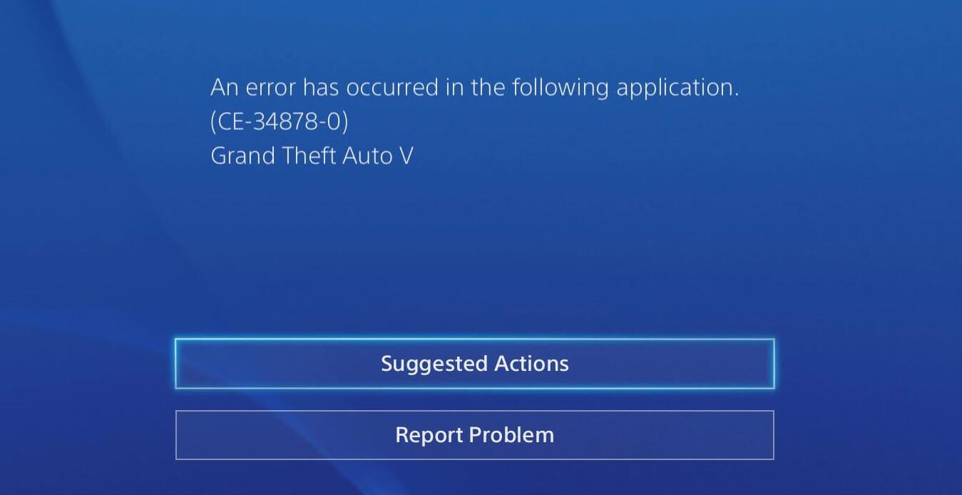 Erro no GTA5