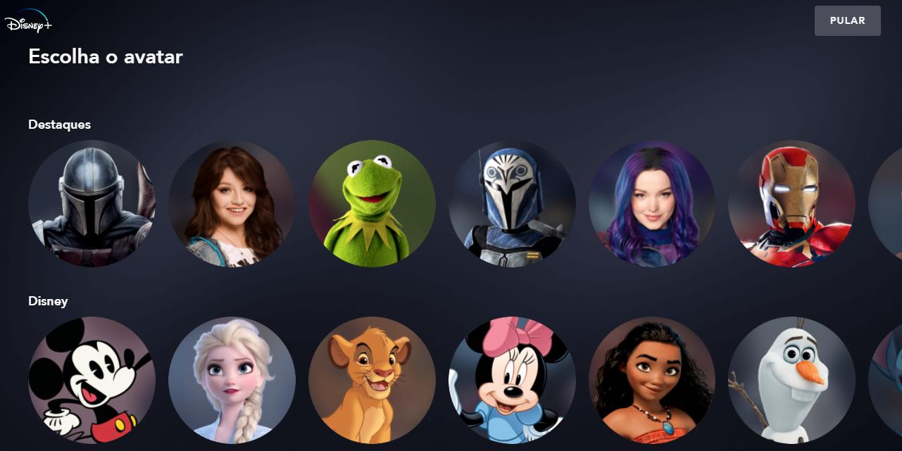 Como criar um perfil infantil no Disney Plus (3)
