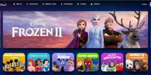 Perfil infantil no Disney Plus