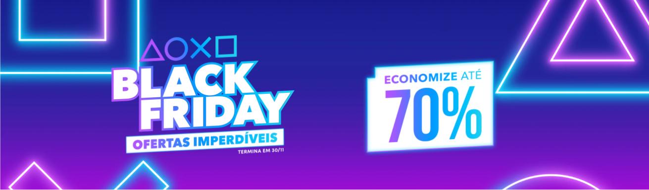 Promoção de Black Friday da PlayStation Store