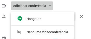 como marcar videochamada google agenda