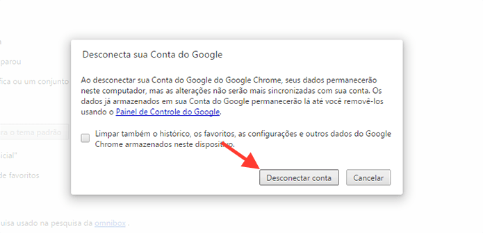 Como remover uma conta Google do meu celular e PC?