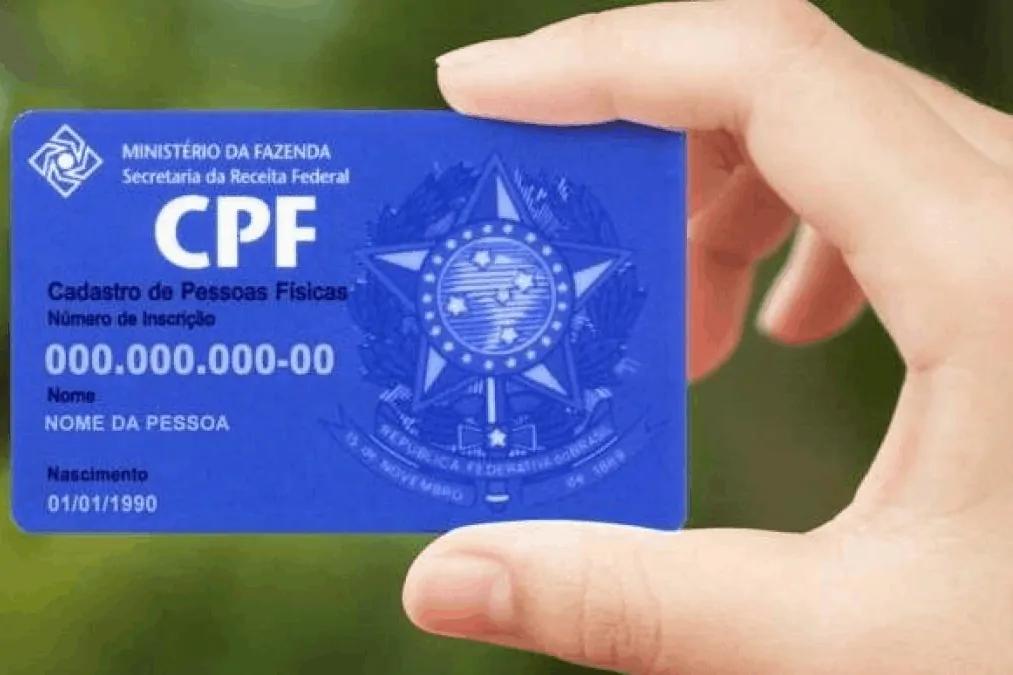Regularização online de CPFs