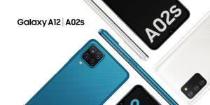 Galaxy A02s e A12