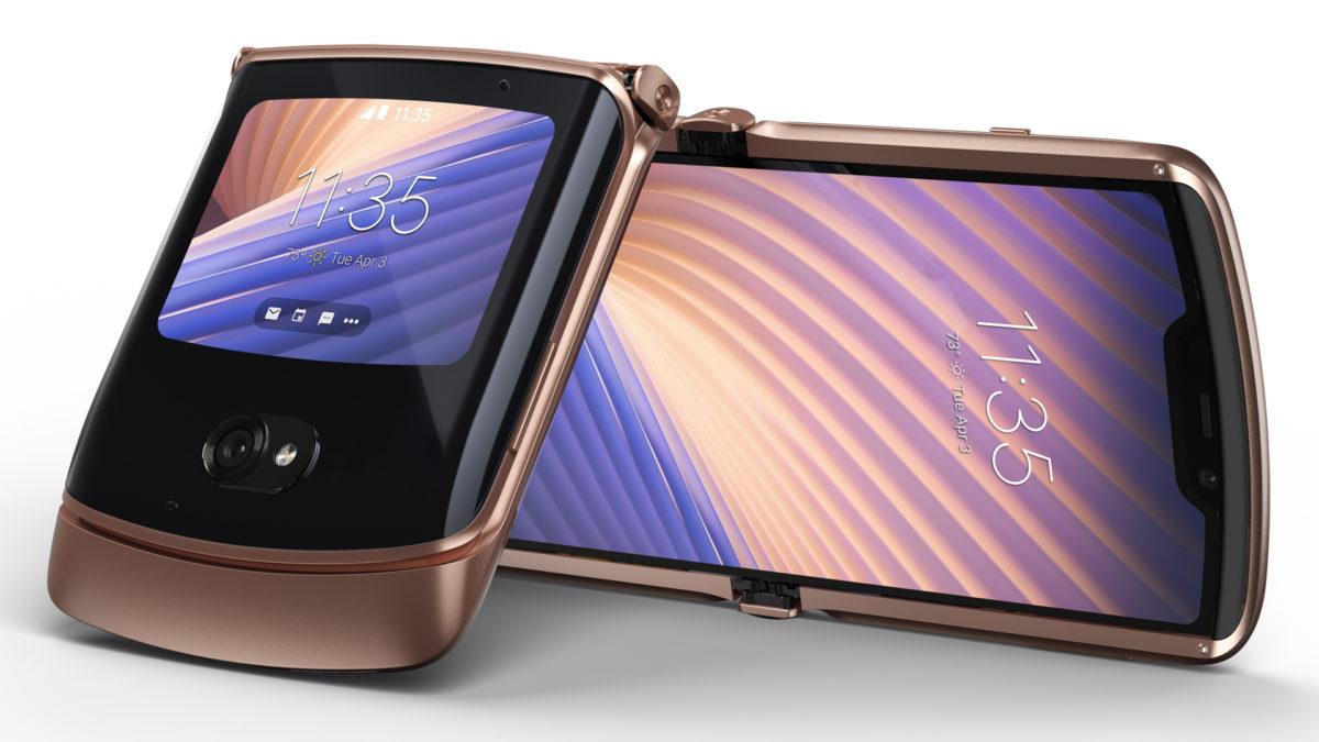 celulares com lançamento em 2021: Motorola Razr 2