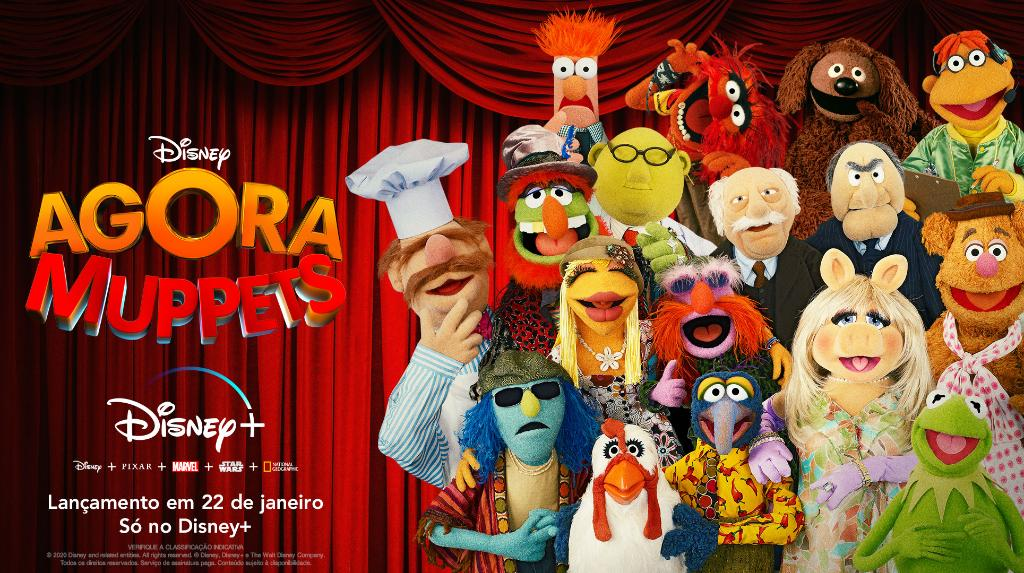 Disney Plus: Agora Muppets! chega ao Brasil em 22 de janeiro de 2021