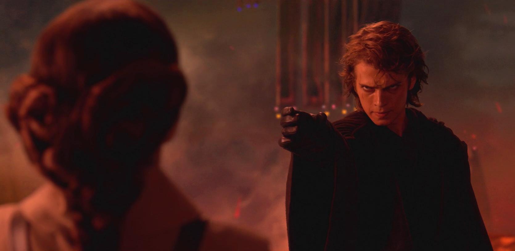 Hayden Christensen como Anakin Skywalker