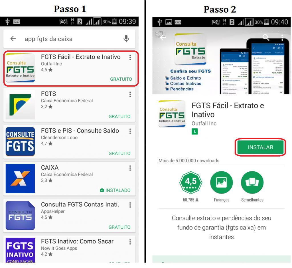 Como baixar o aplicativo do FGTS?