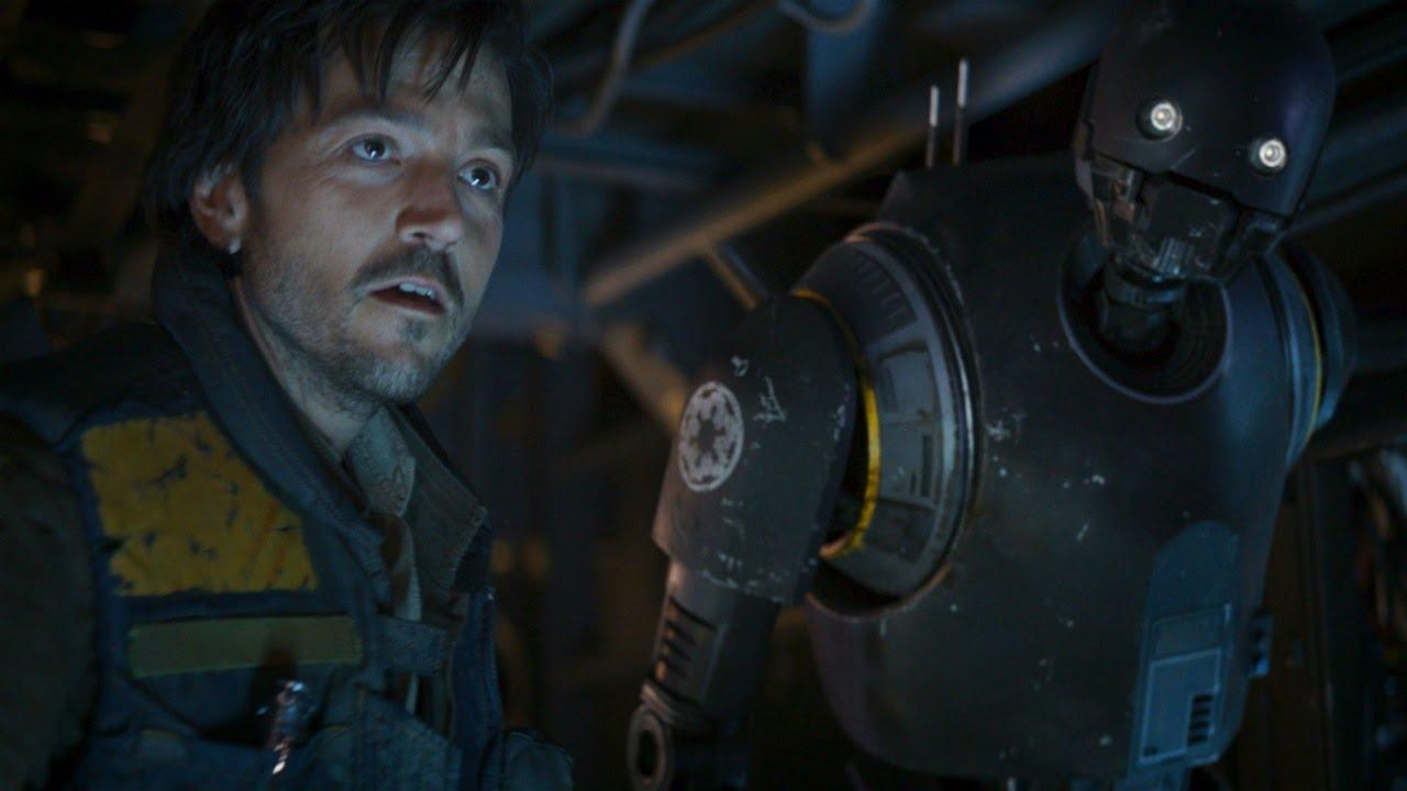 Diego Luna como Cassian Andor em Rogue One