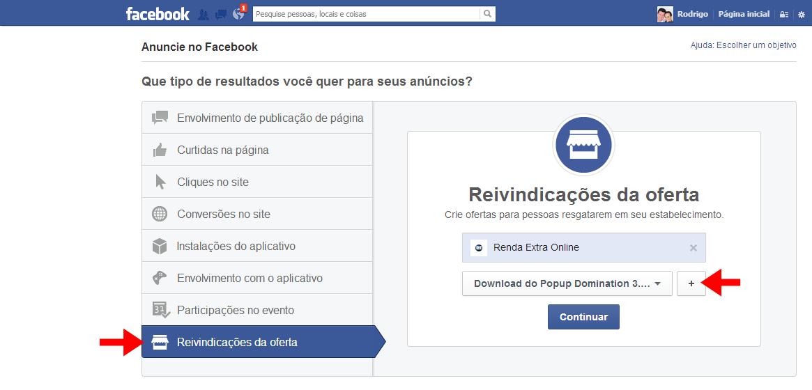 como criar anúncio no facebook
