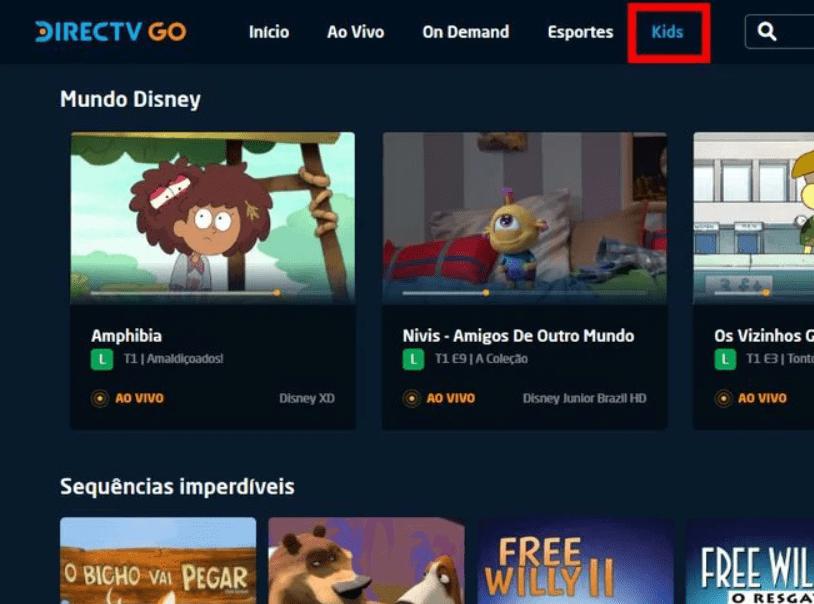 Directv GO Kids
