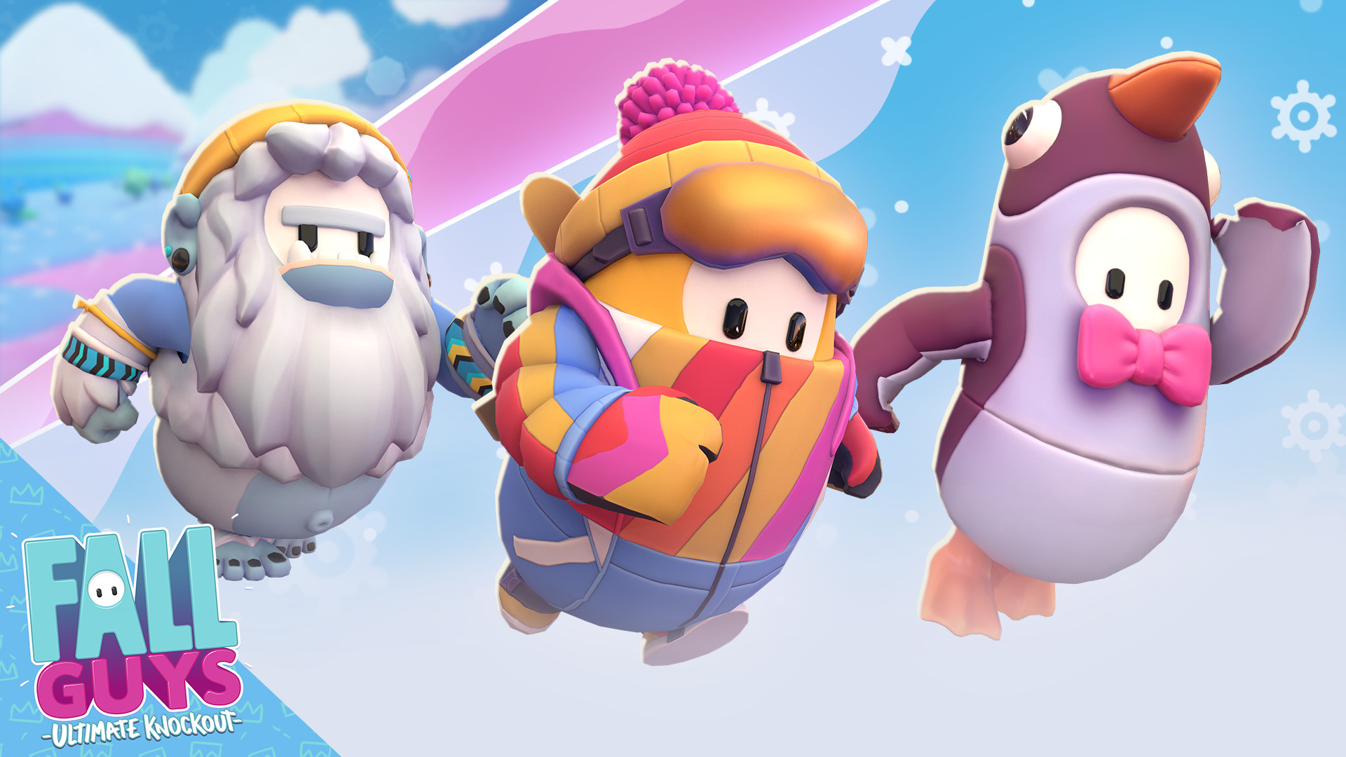 Icy Adventure Pack do Fall Guys