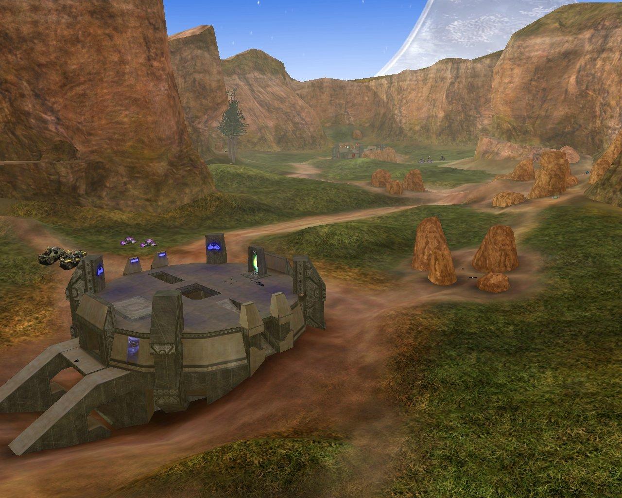 Modo de jogo de Fortnite em mapa clássico de Halo