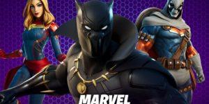 Pacote Marvel Royaly & Warrior no Fortnite