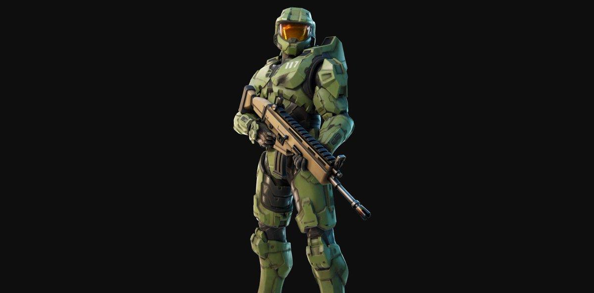 Master Chief, de Halo, no Fortnite