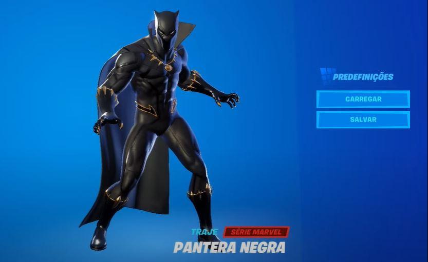 Pantera Negra no Fortnite