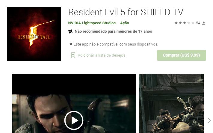 Resident Evil 5 para celular: download e como jogar