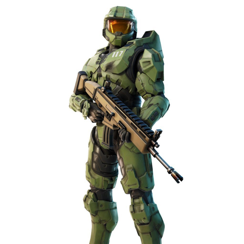 Skin de Master Chief no Fortnite