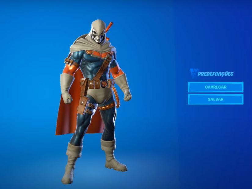 Skin do Treinador no Fortnite