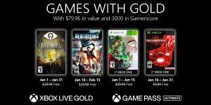 Xbox Games with Gold de Janeiro de 2021