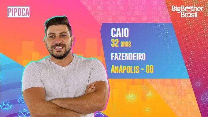 Caio, BBB 21