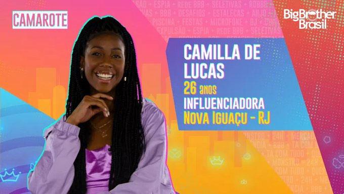 Camilla de Lucas, BBB 21
