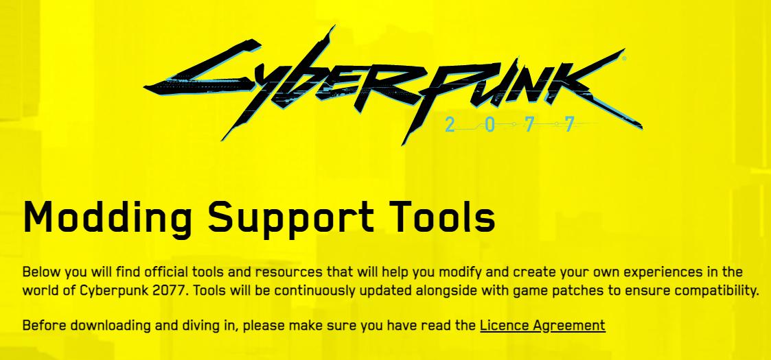 Cyberpunk 2077 ganha suporte a mods