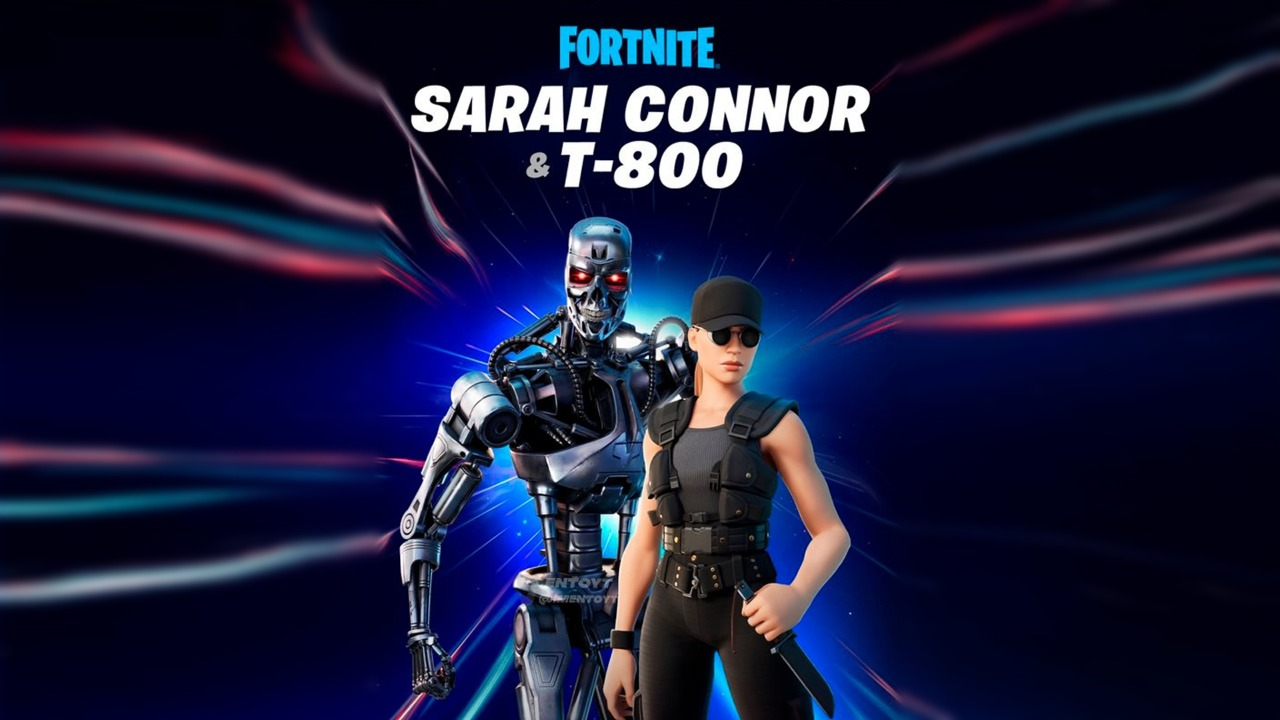 Fortnite - Skin do Exterminador do Futuro