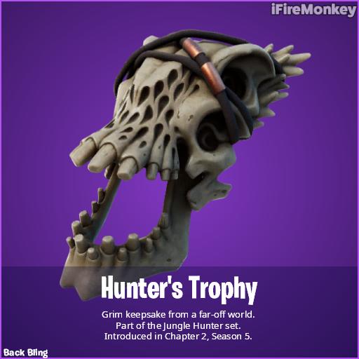Fortnite | Acessório para as costas do Predador